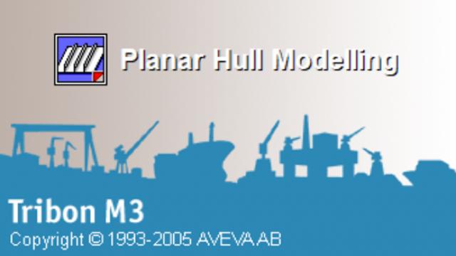 Tribon M3 船体平面建模实战课程